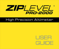 ZIPLEVEL Accessories ZIPLEVEL User Guide